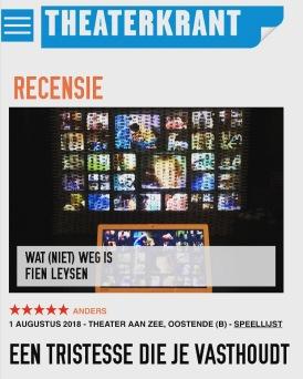 recensie theaterkrant